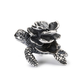 Trollbeads Flower Turtle, Side
