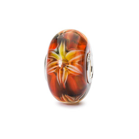Trollbeads Flowers of Passion Glass Bead