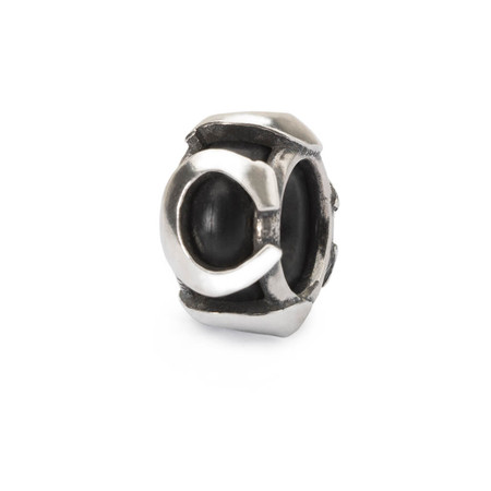 Trollbeads Spacer Letter C