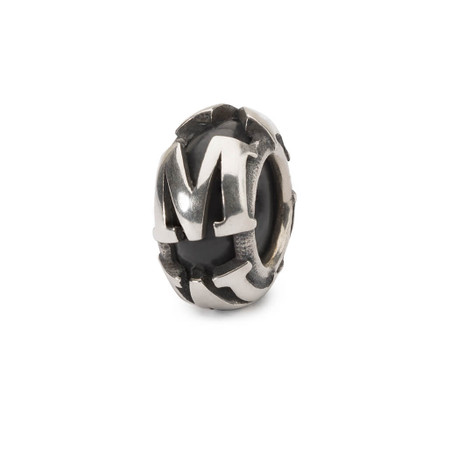 Trollbeads Spacer Letter M