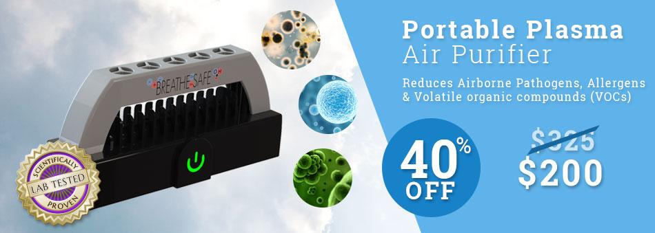 Portable Plasma Air Purifier