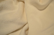Front and Back of Organic Heavy Bamboo Cotton Fleece