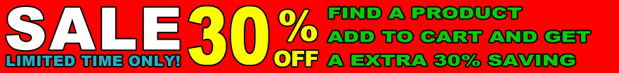 Kithen and Bathroom products 30% off