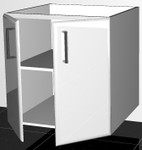 Note : This base cabinet is 880mm high