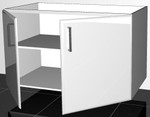 Note: Base Cabinet height 480mm