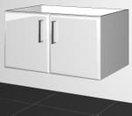 Vanity Cabinet  (V90)