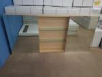 Timber Veneer Shaving Cabinet (display model)