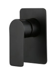 Contempo Wall Mount Shower Mixer - matt black