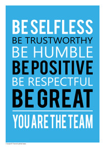 6 B's You Are The Team