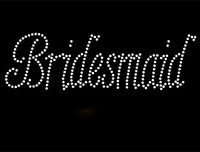 Bridesmaid Rhinestone Transfer Iron on