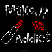 Makeup Addict Makeup Rhinestone Transfer Iron on