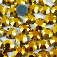 GOLD HEMATITE (Mineral Gold) 3mm 10ss Premium Quality Loose Hotfix Rhine stud