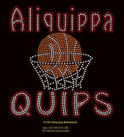 Aliquippa Basketball - Rhinestone transfer