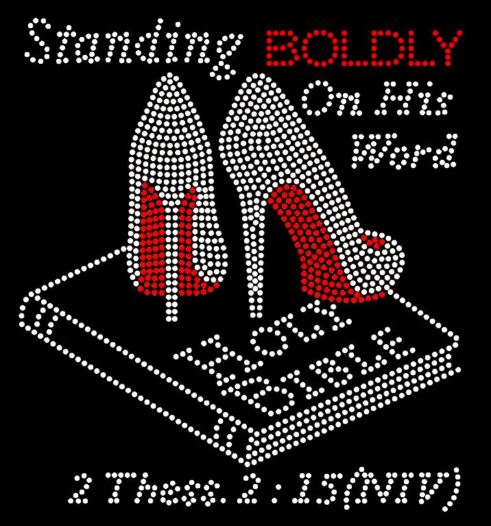 Standing BOLDLY on his word Holy Bible (Separate shoes ...
