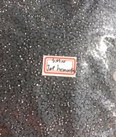 JET HEMATITE 3mm 10ss Premium Quality Loose Hotfix Rhinestone