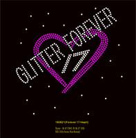 Glitter Forever 17 - Custom Order Rhinestone transfer