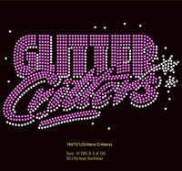 Glitter Critters - Custom Order Rhinestone transfer