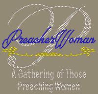 Preacher Woman - Custom Rhinestone transfer
