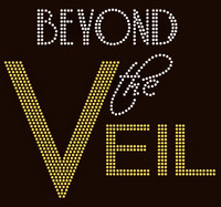 Beyond The Veil custom order Rhinestone Transfer