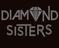 Diamond Sisters custom order Rhinestone Transfer