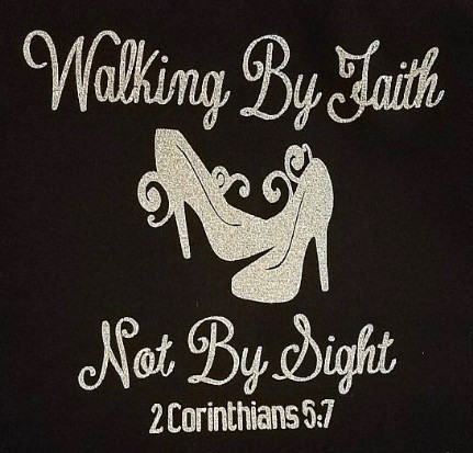 Deposit Walking By Faith Not By Sight Heels Stiletto