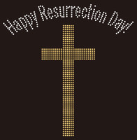 Happy Resurrection Day - Custom Rhinestone Transfer