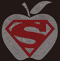 Super Apple - Custom Rhinestone Transfer