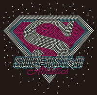 (Balance for purchase) Superstar Athletics custom Rhinestone Transfer