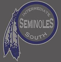 Seminoles - Custom Rhinestone Transfer