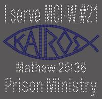 KAIROS Prison Ministry - Custom Rhinestone Transfer