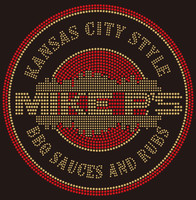 Mike P's BBQ - Custom Rhinestone Transfer