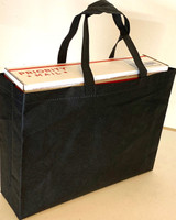 "Tote Bag 15""W x 11.5""H x 4""D (Black)"