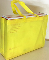 "Tote Bag 15""W x 11.5""H x 4""D (Yellow)"