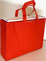 "Tote Bag 15""W x 11.5""H x 4""D (Red)"