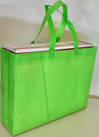 "Tote Bag (Green) 15""W x 11.5""H x 4""Deep"