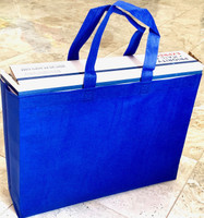 "Tote Bag (Royal Blue) 15""W x 11.5""H x 4""Deep"