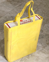 "Tote Bag 12""W x 15""H x 4""D (Yellow)"