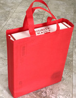 "Tote Bag (Red) 12""W x 15""H x 4""Deep"