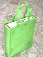 "Tote Bag (Green) 12""W x 15""H x 4""Deep"