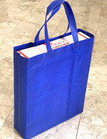 "Tote Bag 12""W x 15""H x 4""D (Royal Blue)"