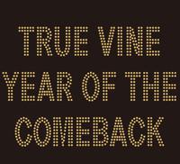 True Vine Year custom Rhinestone Transfer