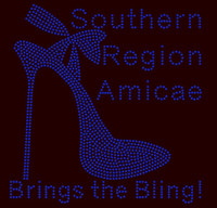 Southern Region Amicae- custom Rhinestone Transfer