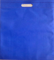 "Exhibition Tote Bag 16""W x 15""H x 2.5""D (Blue)"