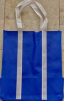 "Two Tone Tote Bag (Blue) 12.4""W x 14""H x 8.7""D"