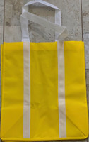 "Two Tone Tote Bag (Yellow) 12.4""W x 14""H x 8.7""D"