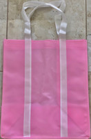 "Two Tone Tote Bag (Pink) 12.4""W x 14""H x 8.7""D"