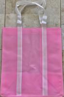 "Two Tone Tote Bag (Pink) 12.4""W x 14""H x 8.7""D"