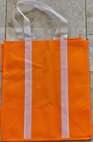 "Two Tone Tote Bag (Orange) 12.4""W x 14""H x 8.7""D"
