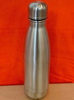Cola Shaped Water Bottle, Tumbler 17 OZ (Stainless Steel)