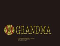 (9x2) Softball Grandma (Roman) - McCabe Rhinestone Transfer